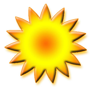 Animated smiling sun gif